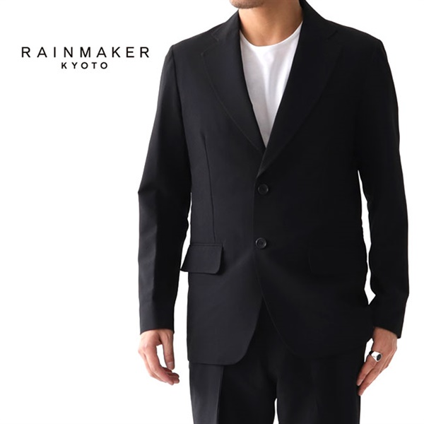 【TIME SALE 30%OFF】<br>RAINMAKER レインメーカー シアサッカー シングルジャケット RM191-030