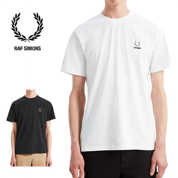 [SALE] Fred Perry by RAF SIMONS フレッドペリー ラフシモンズ ロゴTシャツ SM7059