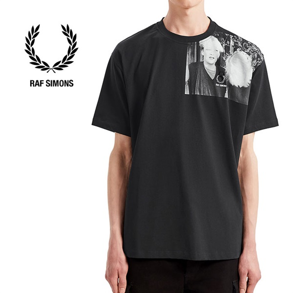 Fred Perry by RAF SIMONS フレッドペリー ラフシモンズ フォトTシャツ SM7063