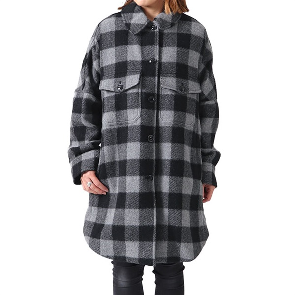 【TIME SALE 50%OFF 1/28(火) 8:59まで】<br>Woolrich ウールリッチ バッファローチェック ウールコート WWCPS2774