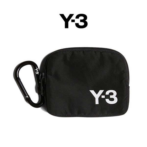 【TIME SALE 30%OFF】<br>Y-3 ワイスリー カラビナ ミニポーチ FQ6967 財布 ウォレット