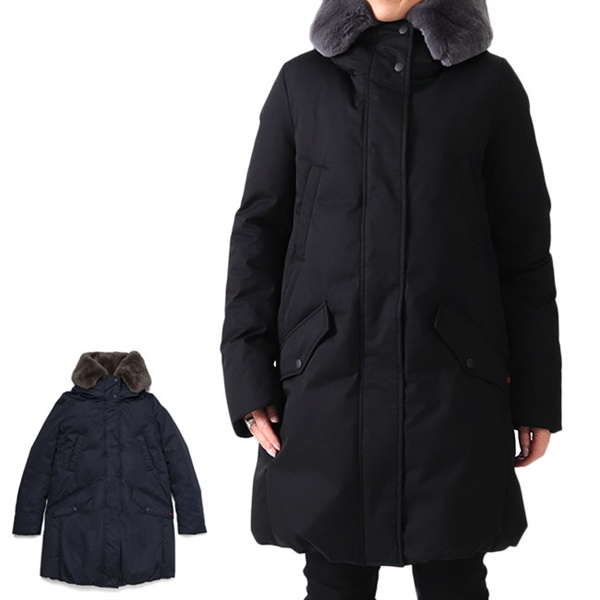 Woolrich ウールリッチ COCOON PARKA ファー付き コクーンパーカー ダウンコート WWOU0351